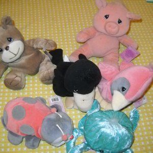 LOT OF 6  PRECIOUS MOMENTS TENDER TAILS